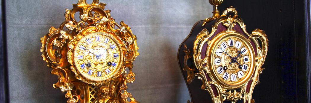 Uhren aus der Barockzeit, bis in die frühen Zwanziger...